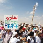 Peace protesters in Israel