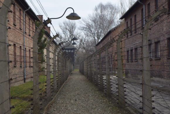 Auschwitz concentration camp, a death camps in Nazi-occupied Poland where 1.1 million were killed during the Nazi Holocaust. (Photo: Tamam Abusalama)