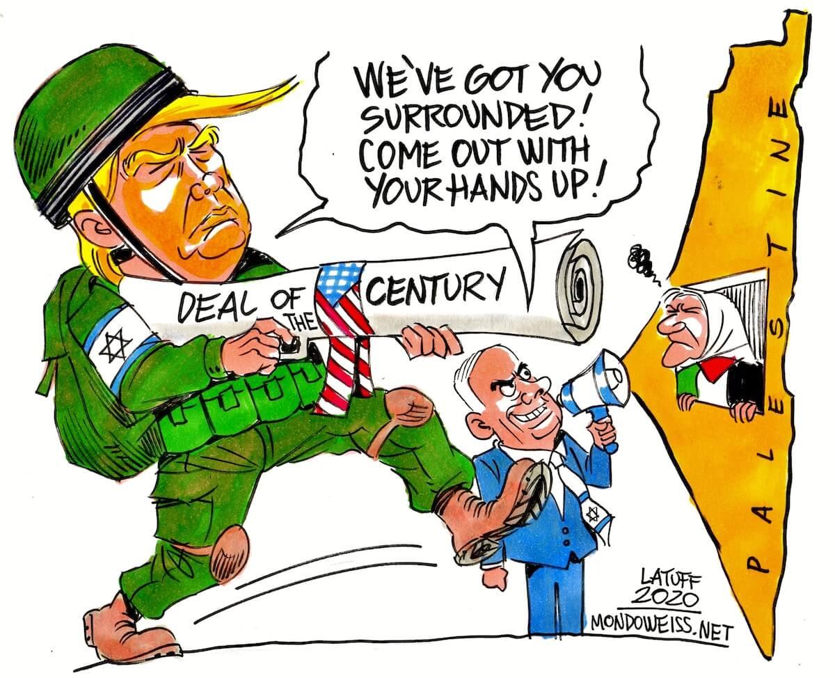 (Cartoon: Carlos Latuff)