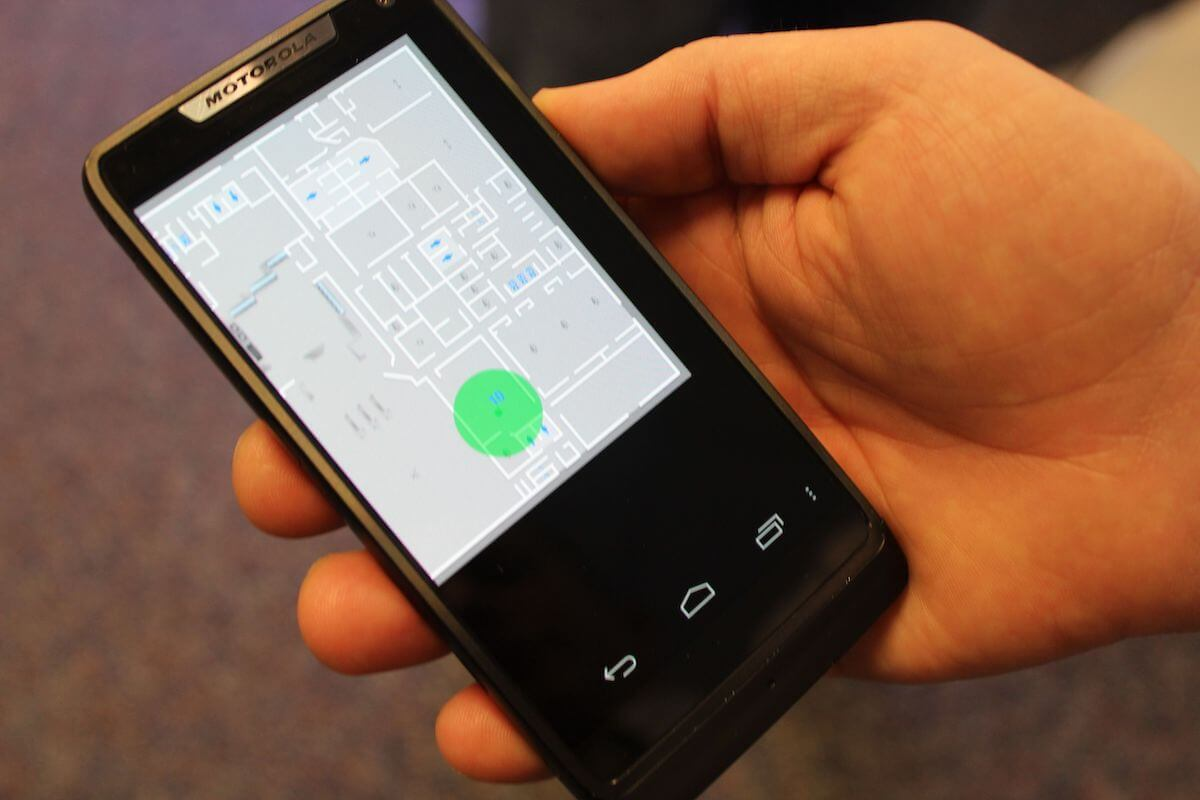 File photos of geolocation software developed by Intel. (Photo: Intel Free Press)