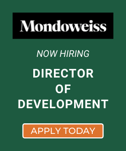 Mondoweiss is hiring a Director of Development