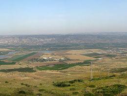 Panoramic view of the Jordan Valley (IMEMC)