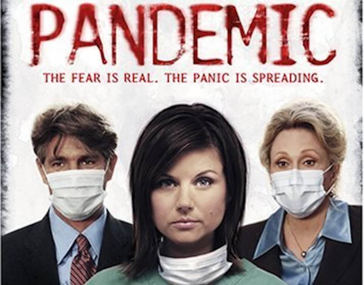"A poster for the 2007 Hallmark Channel miniseries, ""Pandemic"""