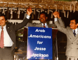 James Zogby, Jesse Jackson, and Casey Kasem (Photo: AAIU website)