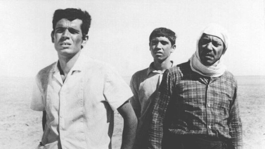 A still from the 1972 film 'The Dupes' by Syrian filmmaker Tawfik Saleh. The film was based on the novella Men in the Sun by Ghassan Kanafani.