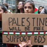BDS activists in New York City (Photo: Joe Catron)