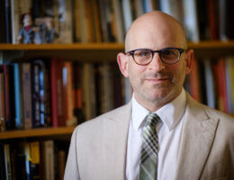 Wake Forest history professor Barry Trachtenberg
