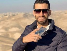Ahmad Erekat, 27, was killed on his sister's wedding day. Photo: Social Media.