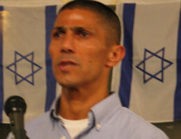 Ishmael Khaldi speaking at Rutgers University in 2010 (Photo: Wikipedia)