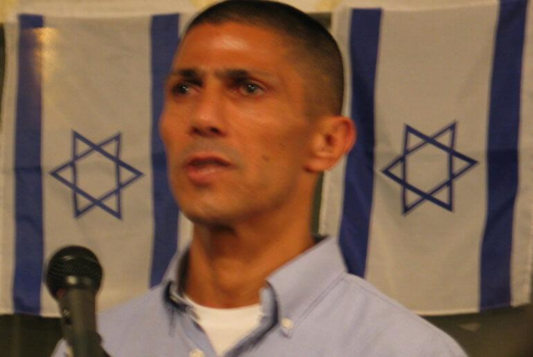 Ishmael Khaldi speaking at Rutgers University in 2010 (Photo: Wikipedia)