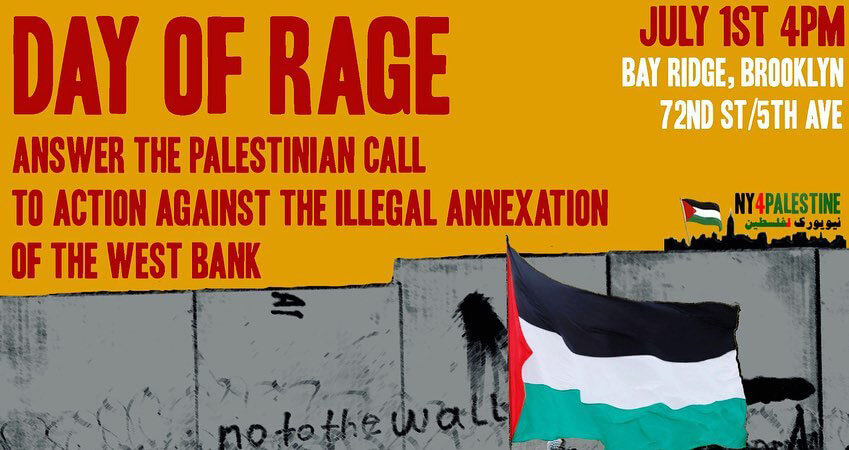Poster created by NY4Palestine (Image via Palestine Poster Project Archives)
