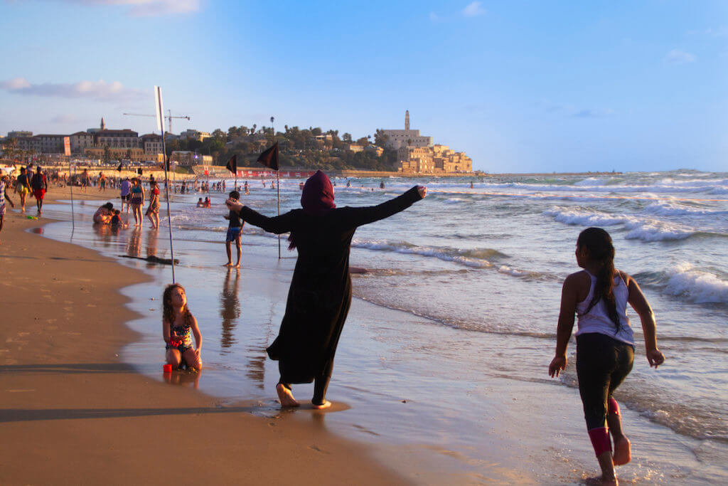 Jaffa and the sea, August 8, 2020 (Photo: Dareen Tatour)