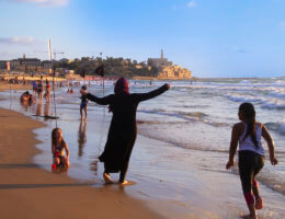Jaffa and the sea, August 8, 2020 (Photo: Dareen Tatour)
