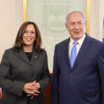 Prime Minister Benjamin Netanyahu meets with Senator Kamala Harris in Israel, November 20, 2017. (Photo: Amos Ben Gershom/GPO)