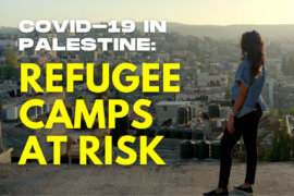 COVID-19 in Palestine: Refugee Camps at Risk