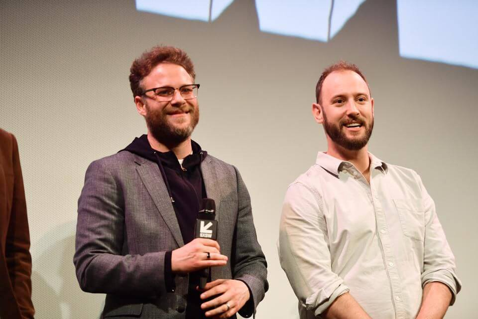 "Seth Rogen and writing partner Evan Goldberg attend the ""Good Boys"" Premiere 2019 SXSW Conference and Festivals at Paramount Theatre on March 11, 2019 in Austin, Texas. (Photo: Matt Winkelmeyer/Getty Images for SXSW)"