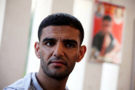 Mahmoud Sarsak (Photo: Ashraf Amra/APA Images)