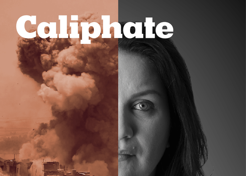 """Artwork promoting the New York Times podcast """"Caliphate"""" (Image: New York Times)"""