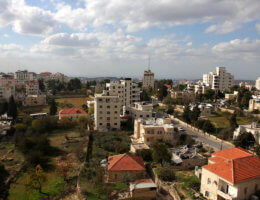 Ramallah in the West Bank on December 6, 2009. (Photo: Issam Rimawi/APA Images)