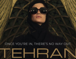 "Poster for the television show ""Tehran"""