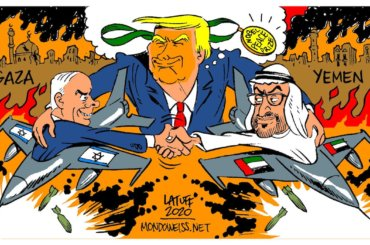 (Cartoon: Carlos Latuff)