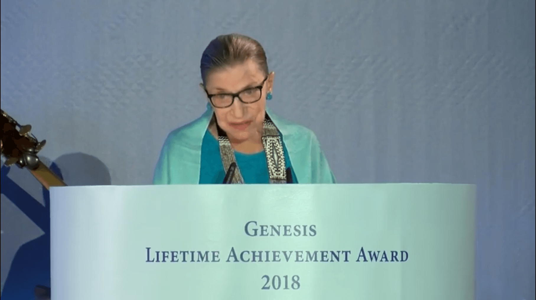 Accepting Israeli prize in 2018, RBG never mentioned Palestinians – Mondoweiss