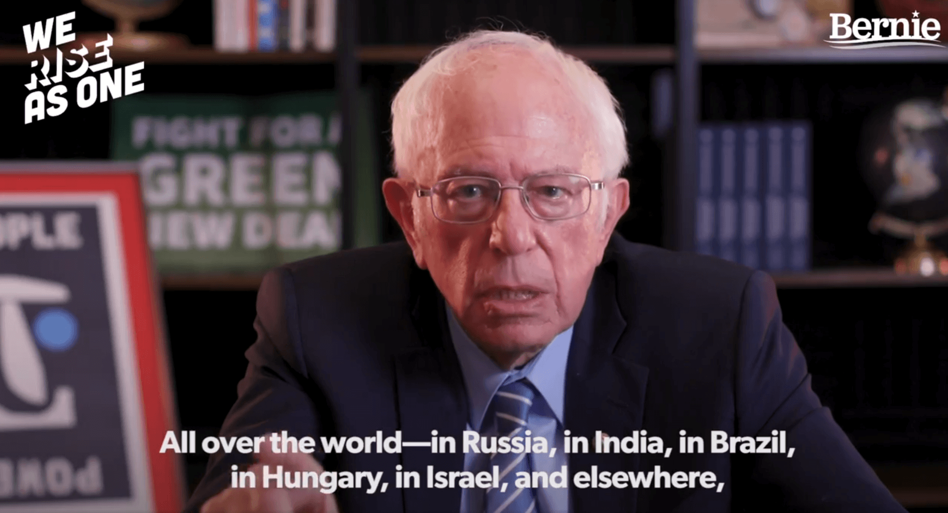Bernie Sanders slams Israel's 'intolerant authoritarian' leaders — and links them to rise of white supremacy – Mondoweiss