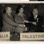 Local fundraising event in support of the American Federation of Polish Jews, Minneapolis, Minnesota. 1940?. University of Minnesota Libraries, Nathan and Theresa Berman Upper Midwest Jewish Archives, reflections.mndigital.org/catalog/jhs:245 Accessed 20 Oct. 2020.