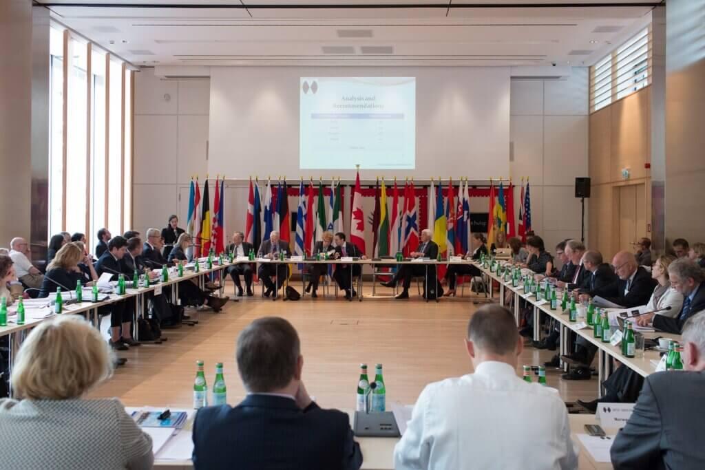 The IHRA Plenary Meetings held under the Canadian Chairmanship in Berlin in 2013. (Credit: Trevor Good)