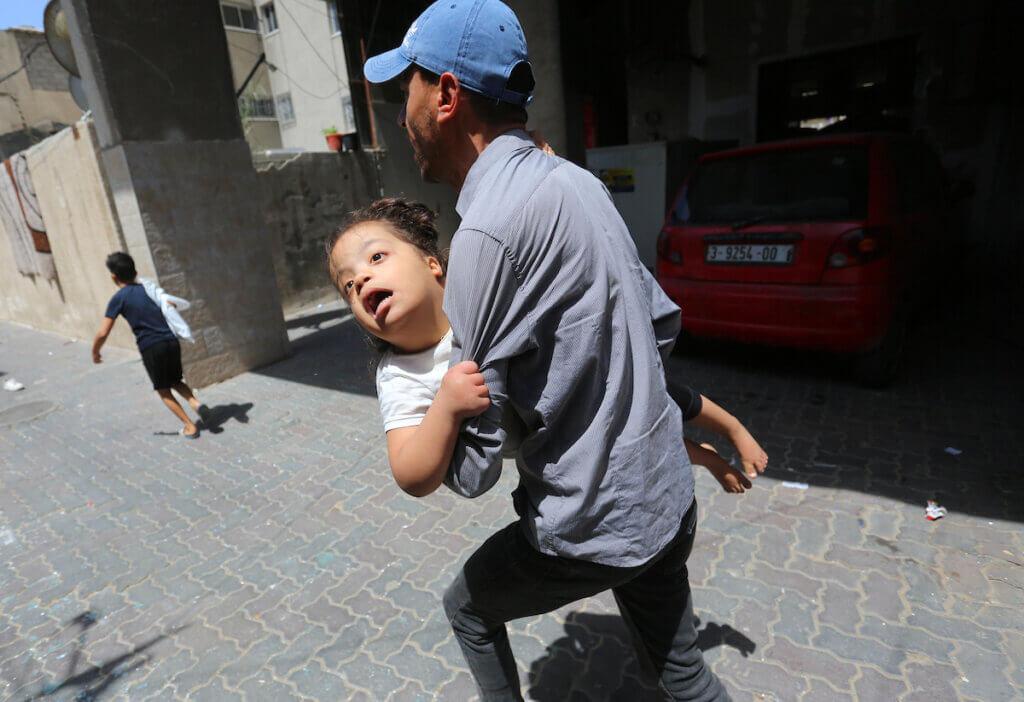 In Fotos: 24 Stunden in Gaza