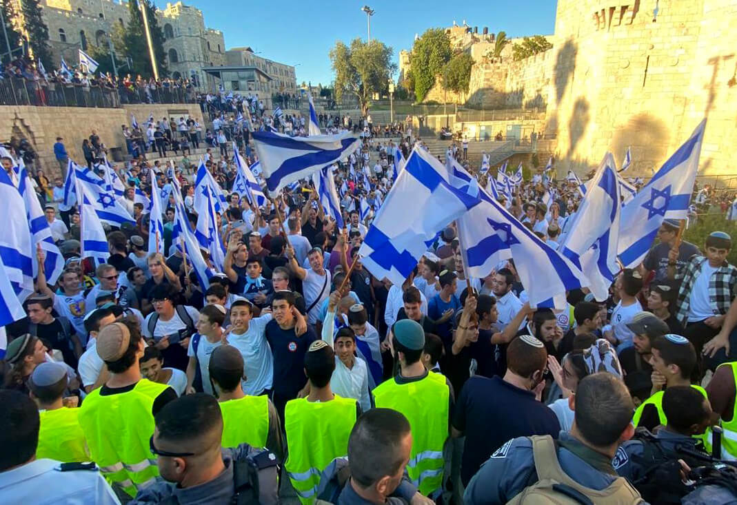 'Death to Arabs': Israeli 'Flag March' features racist anti-Palestinian chants