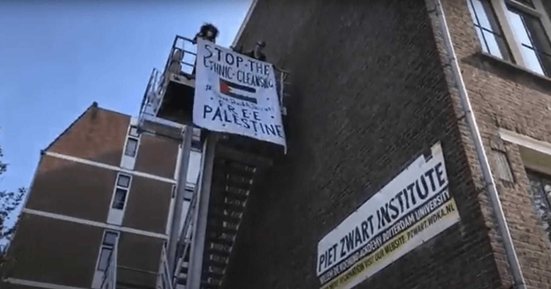 Netherlands art institute cracks down on free speech for Palestine — and seizes watermelon banner – Mondoweiss
